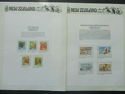 ESTATE: New Zealand Collection on Pages - Must Have!! Excellent Item! (p1355)