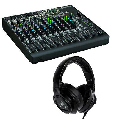 Mackie 1402VLZ4 14-Channel Mixer with MC-250 Headphones Bundle