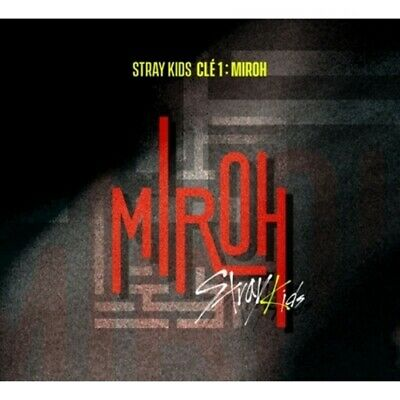 Stray Kids-[Cle 1:Miroh] Noraml Random CD+Poster+Book+Card+Post+Gift+Pre-Order