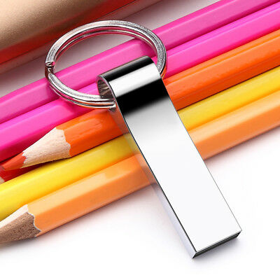 Portable Keychain Metal USB 2.0/3.0 32GB 16GB Flash Drives Memory Stick U Disk