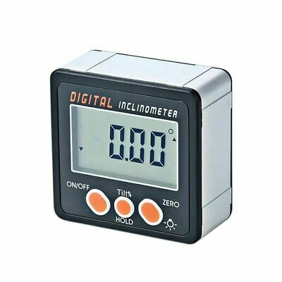 Electronic Protractor Digital Inclinometer 0-360 Digital Bevel Box Angle Gauge