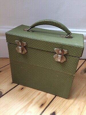 VINTAGE RECORD Single Records / CARRY / STORAGE / CASE / BOX 1950s 60s