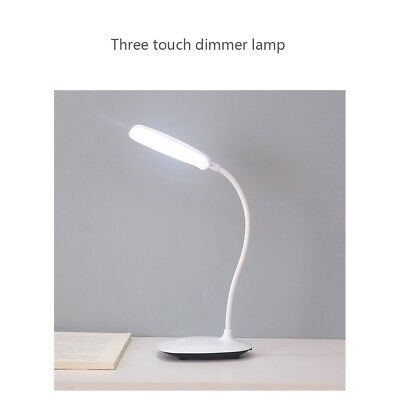Table Light LED Desk Lamp With USB Charging Port Home Office Dimmable Lighting