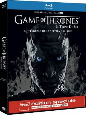 Game of Thrones Season 7 Edition FNAC BLU RAY Content Exclusive New+DISC BONUS