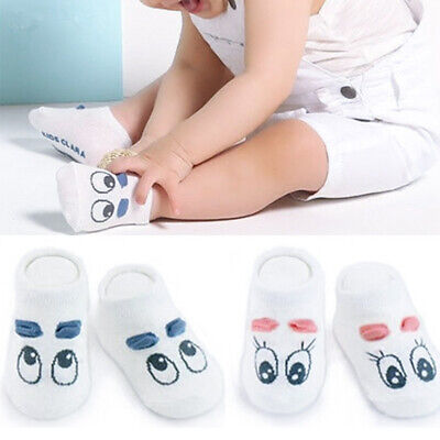 Summer Spring Baby Infant Socks Cotton Boys Girls Lovely Toddler Anti-slip Socks