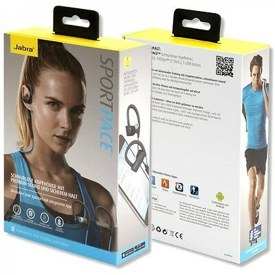 Jabra Sport pace Headphones Sport Wireless Blue Load Fast and Application