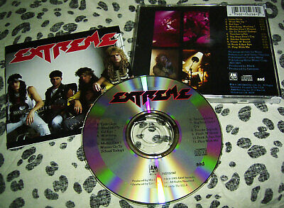 CD EXTREME - SAME (1.) * A&M 1989 USA * Nuno Bettencourt / Gary Cherone * TOP