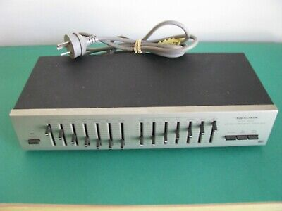 Realistic Seven Band Stereo Frequency Equalizer