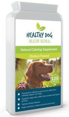 Dog Calming Supplement for Stress, Anxiety - Relaxant - Relief For Nervous Dogs