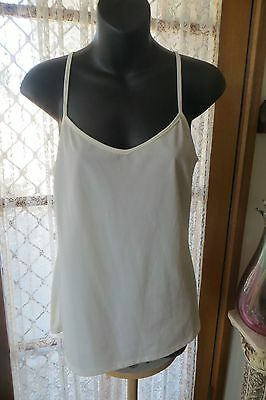 CAMISOLE in VINTAGE Style  ~ CAMISOLE ~ by TARGET in Cream  * Size 12 *