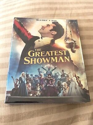 The Greatest Showman with Sing-Along 2018 BLU-RAY + DVD  [REGION FREE]