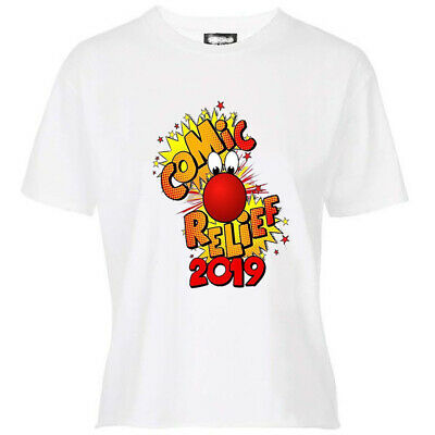 Red Nose day  2019 Kids/Adult T-Shirts, Sale Benefits Charity, (CR2)