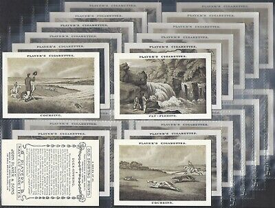 Players-Full Set- Old Sporting Prints (X25 Cards) - Exc