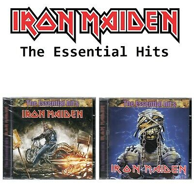Iron Maiden 2 CD The Essential Hits Brand New Sealed