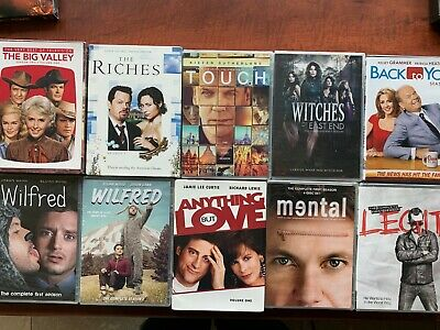DVD lot Free Wilfred Mental Big Valley Touch Witches East End Legit Back to You
