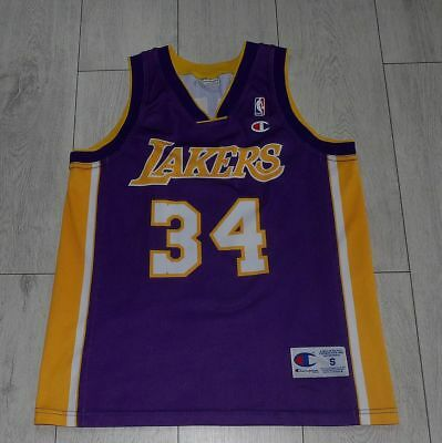 bb306d95396 VTG 90S CHAMPION nEw Los Angeles la lakers shorts NBA basketball ...