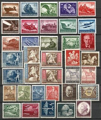 Germany Third Reich 1941-1944 Collection MNH/MH Commemorative Stamps - Lot 2