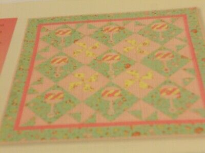 Baby Rattles Foundation Paper Piecing Quilt Pattern from Magazine