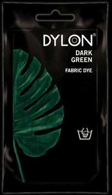 Dylon Fabric Dye Hand Use 50g Pack Clothes - Dark Green ** CLEARANCE PRICE **