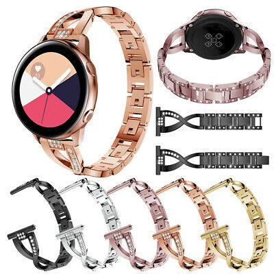 Stainless Steel Bracelet Link Strap Band For Samsung Galaxy Watch Active 40mm