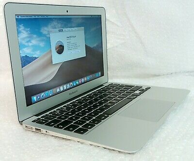 "Apple MacBook AIR 2015 7,1 Core i5 1.6GHz 4GB 128GB SSD 11"" OSX 10.14 Mojave"