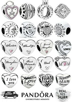 BRAND NEW PANDORA CHARMS - S925 ALE with FREE SOFT POUCH