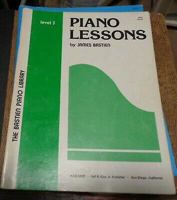 Bastien Piano Library THEORY Lessons LEVEL 3 WP9