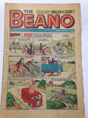 DC Thompson THE BEANO Comic. Issue 1592 January 20th 1973 **Free UK Postage**