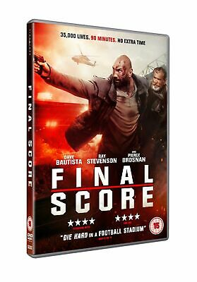 Final Score [DVD] Action Movie Dave Bautista (Guardians of the Galaxy) NEW Stock