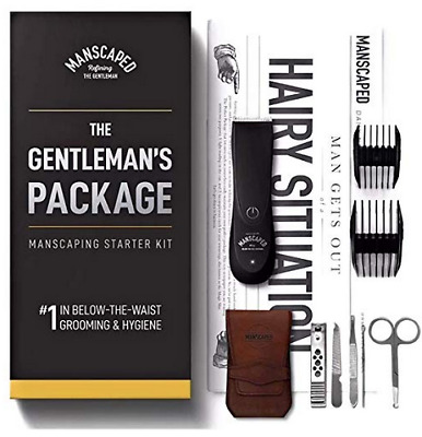 MANSCAPED! The Gentleman's Package Starter Kit + Nail Kit - Lawn Mower 2.0