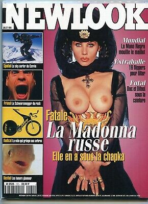 New Look Magazine French Edition July 1994 Madonna