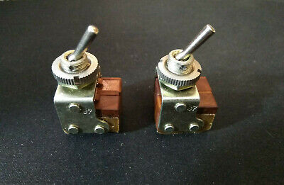 Military Russian Mini Toggle Switch DTDT On-On NOS.Lot of 10pcs.