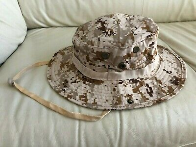 180a8cd4517b5 Desert Marpat Boonie Hat USMC Marines Tan Khaki Digital Camo Cap 1 Size  Fits All