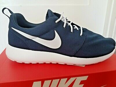 sports shoes 2bd66 48dd8 Nike Roshe One Running Shoes Obsidian White Navy 511881-423 Men s NEW 10 1