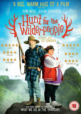 Hunt for the Wilderpeople [DVD] Sam Neill Comedy Drama NEW Movie Film