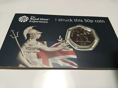 2019 Royal Mint STRIKE YOUR OWN (SYO) Britannia 50p Coin.Won't be in circulation