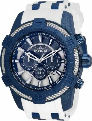Invicta 26610 Pro Diver Men's 52mm Chronograph Blue-Tone Steel Blue Dial Watch