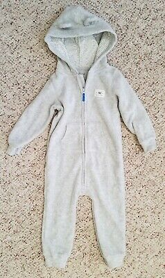 5b2ecd6ac NWT CARTER S BABY Boys  Long Sleeve Fleece Jumpsuit Coverall 1 Piece ...