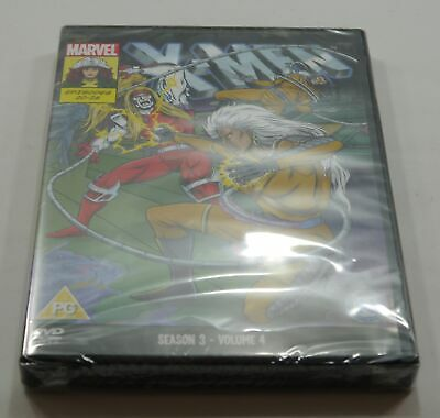Marvel X-Men Season 3 Volume 4 DVD PAL Region 2 New Sealed - Fast Free Delivery