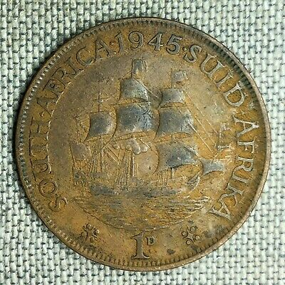 South Africa Penny, 1945 - 03869