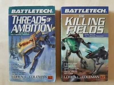 Threads of Ambition + The Killing Fields, Capellan Solution by Loren L. Coleman