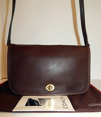 8e20f228a0c4 EXCELLENT NWOT VINTAGE COACH SMALL CROSS BODY POCKET PENNY BAG ...