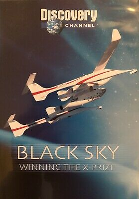 Black Sky - The Race For Space - Discovery - DVD - 2004 - BRAND NEW