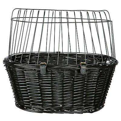 Trixie Lattice Bicycle Basket With Pillow (TX519)