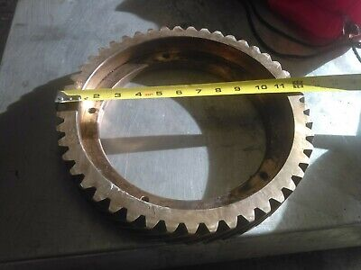 Large Brass Gear 12 Inch Great for Steampunk & Industrial Art