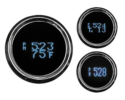 Dakota Digital HLY-3161 Clock with Time, Date and Temperature