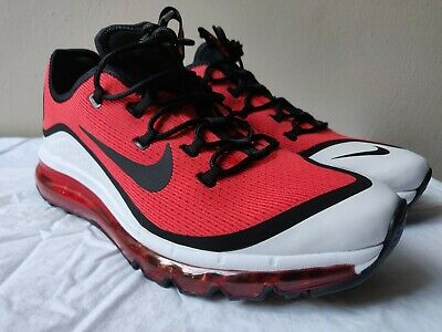 72dacc27dd5cc NEW NIKE AIR MAX MORE Men s Running Shoe AR1944 600 Habanero Red Black Size  10.5