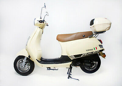 BRAND NEW 2020 TORINO FAMOSA 125cc LEARNER LEGAL SCOOTER Cream –$2,690