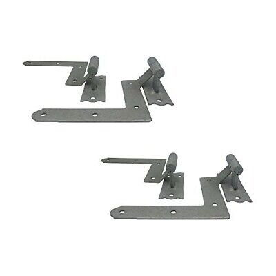 Galvanized Window Blind Shutter Hinges, Easy to Install for Wood Frame and Brick