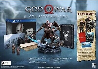 God of War - Collectors Edition for PlayStation 4 [New PS4] Worldwide Shipping